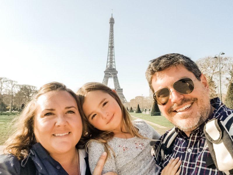 Crepes & the  Eiffel Tower Were Collins' Favorite  Parts of Paris
