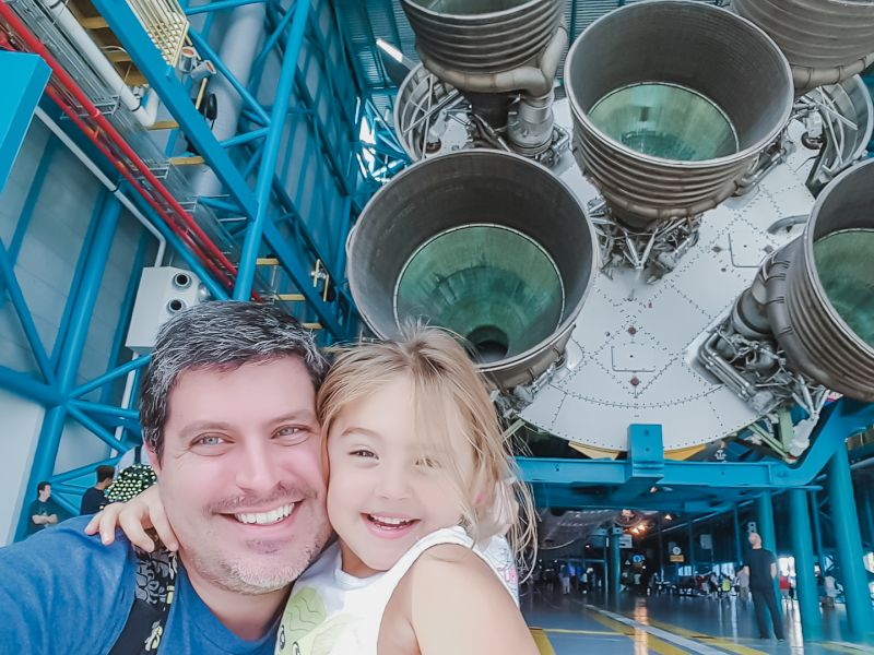 Seeing the Rockets at Kennedy Space Center