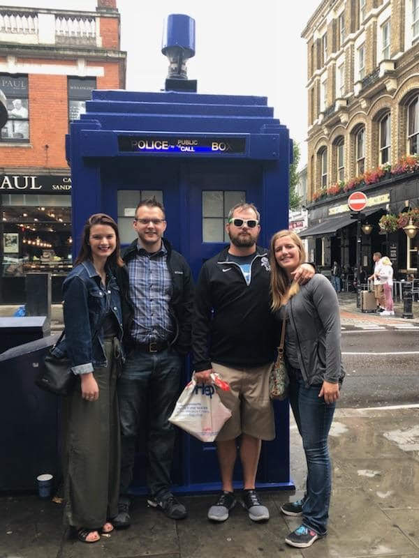 Drew's Family in England