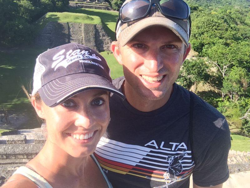 Visiting Mayan Ruins