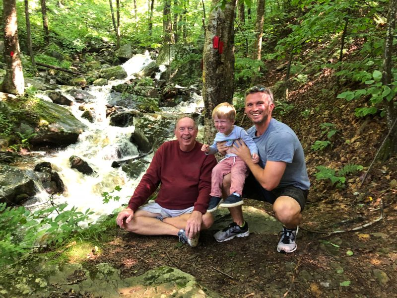 Hiking with Grandpa