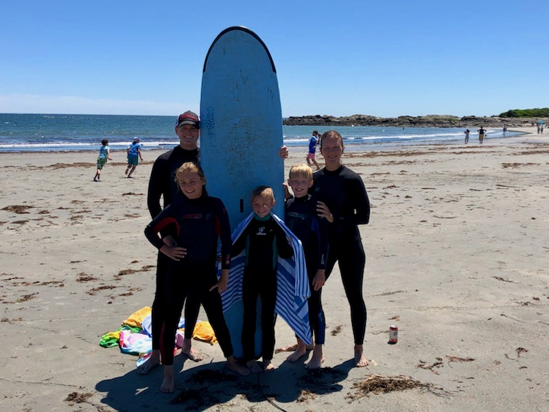 Family Surfing Lesson