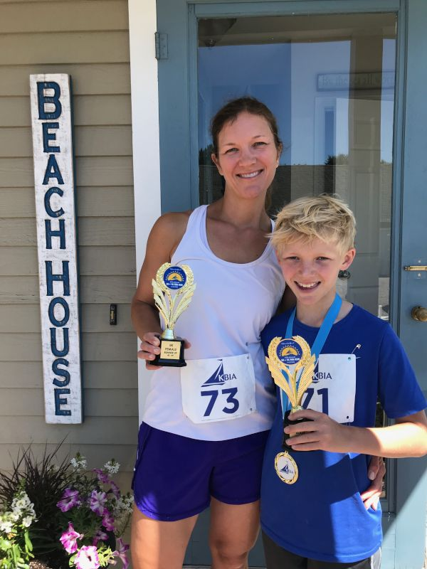 Amy & Leo's Road Race Win