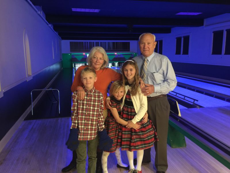 Bowling With the Grandparents