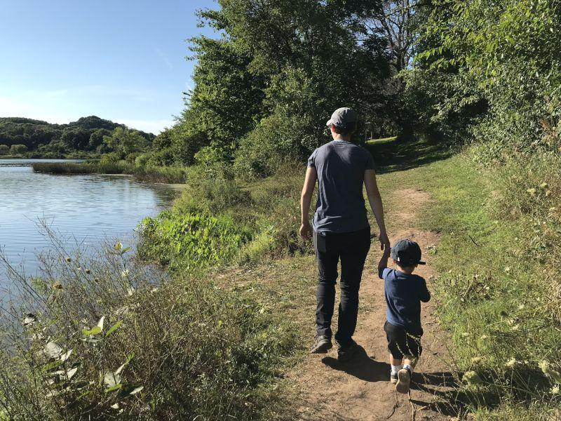Jaxx & Jamie Hiking