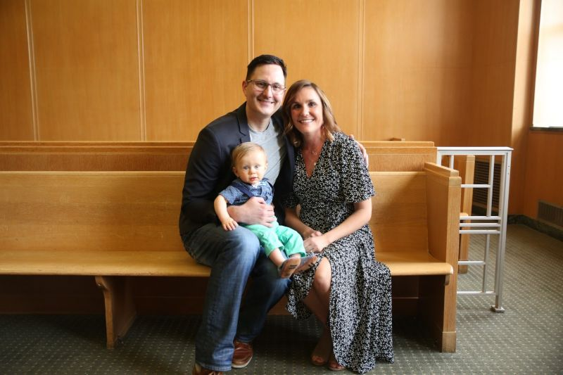 Asher's Adoption Day