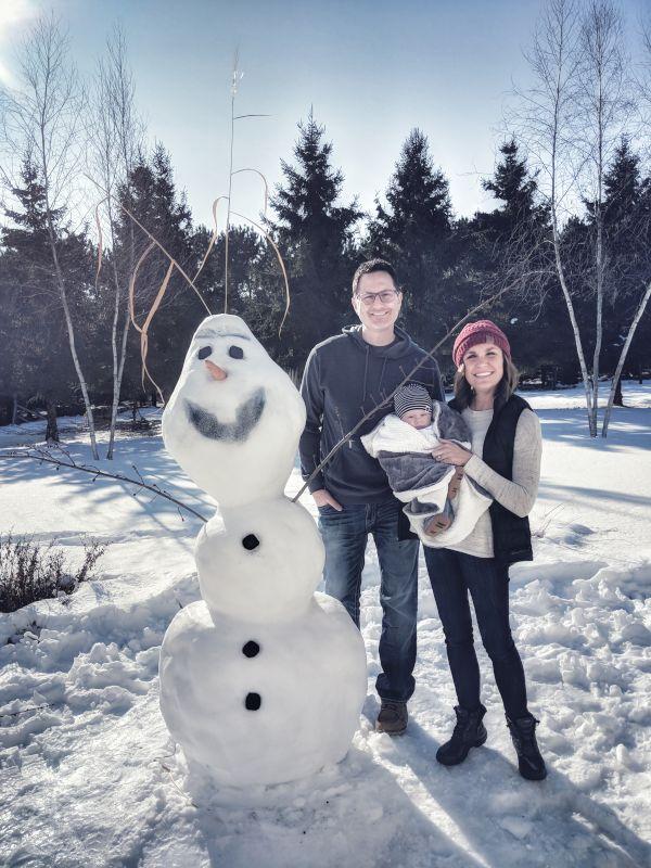 Having Some Fun in the Snow
