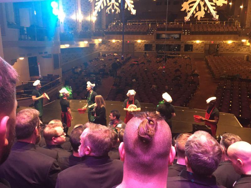 Brandon's Chorus Rehearsing for a Concert