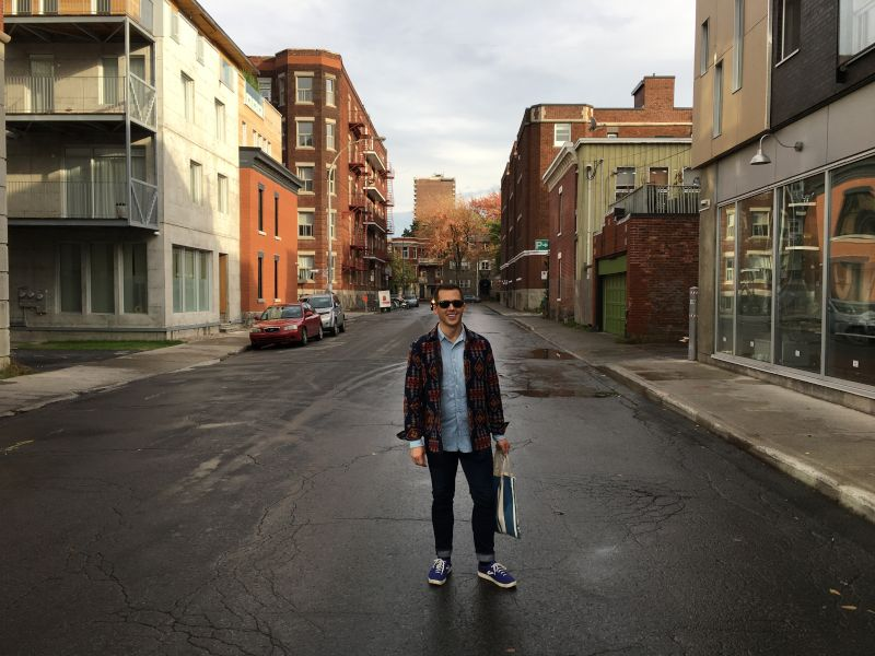 Josh in Montreal