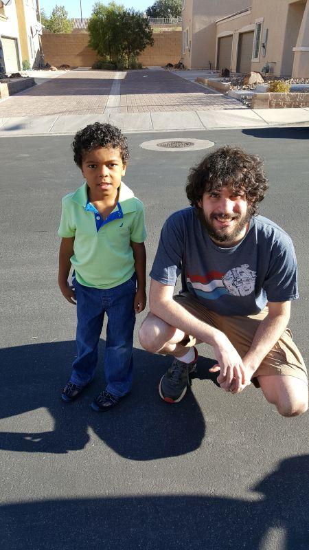 James & Our Nephew