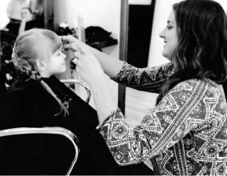 Paige & One of Her Favorite Clients