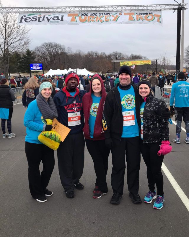 Turkey Trot With Family