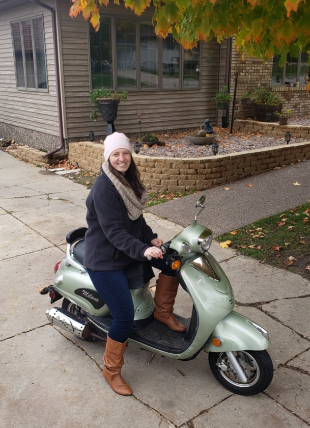 Brianna & Her Scooter