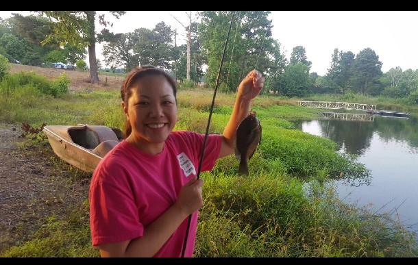 Joyce Fishing