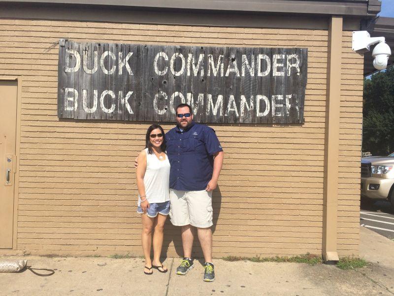 Visiting Duck Commander