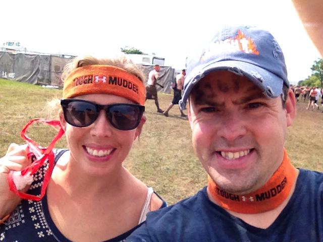 Finished the Tough Mudder!