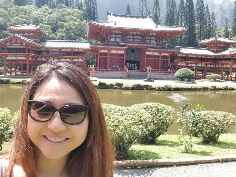 Visiting a Japanese Temple
