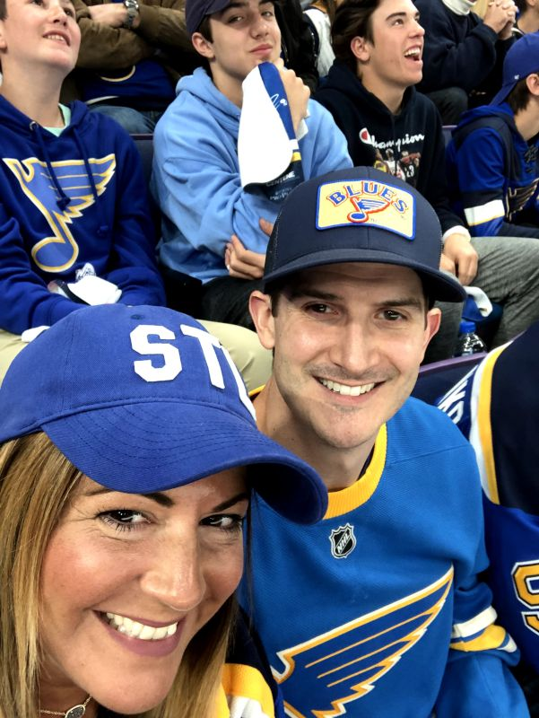Blues Playoff Game