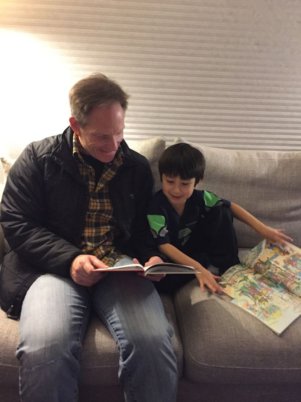Reading Time with Papa