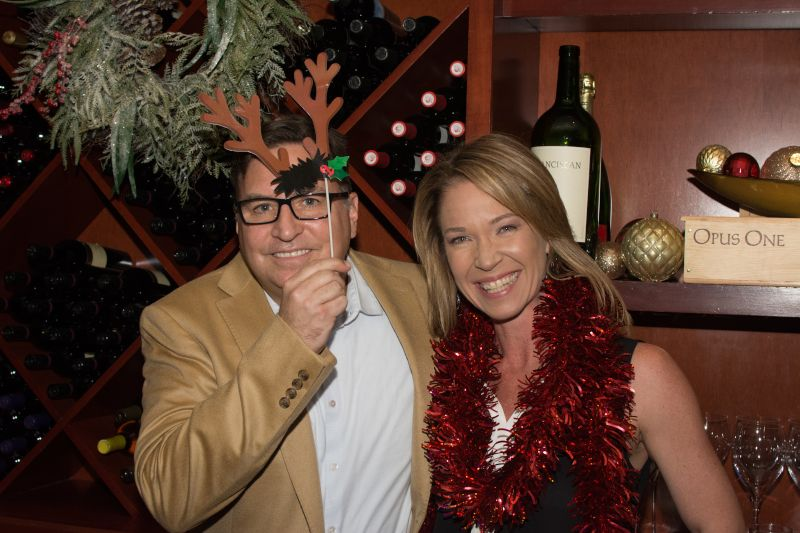 Getting Festive at a Holiday Party