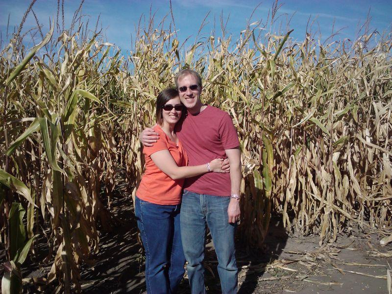 Caught in a Corn Maze