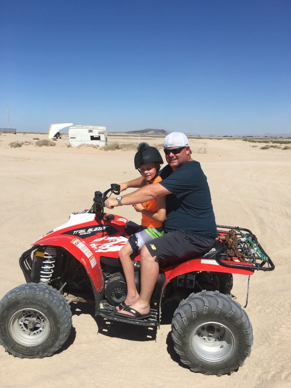Jack LOVES to Go Four Wheeling