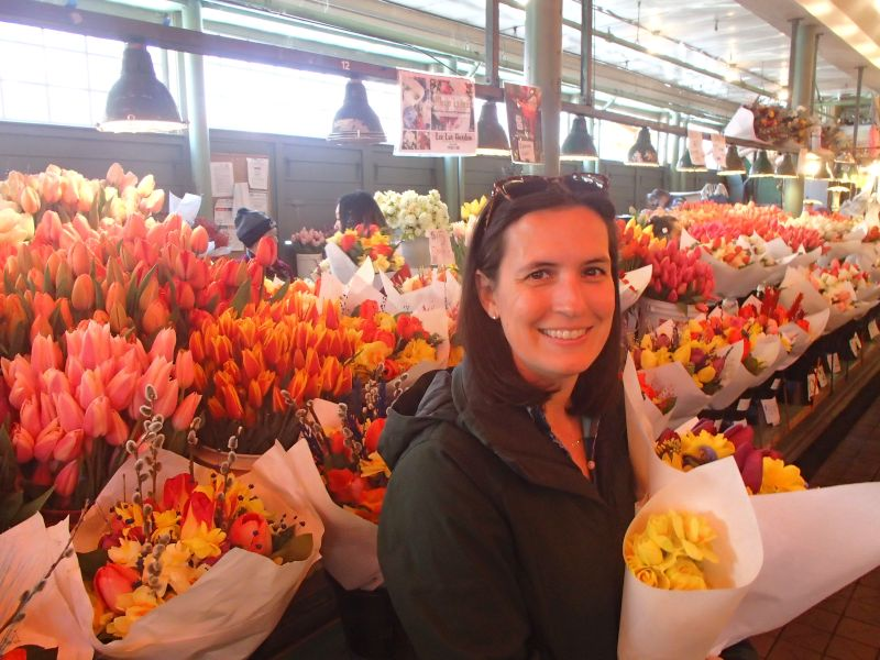 Amazing Flowers at the Market