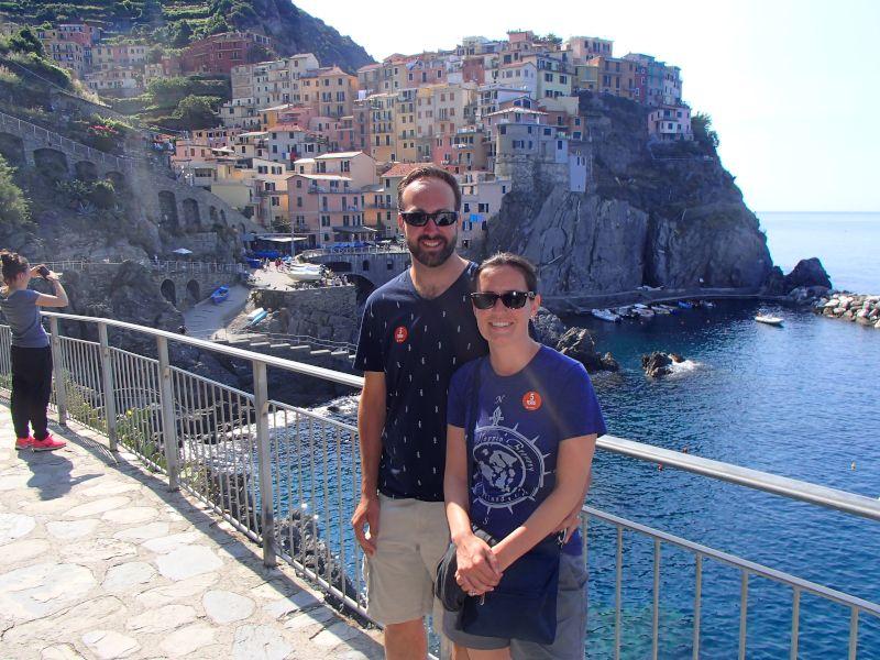Taking in the Italian Coast