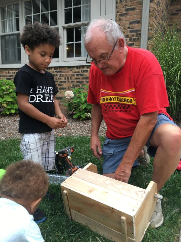 Building with Grandpa