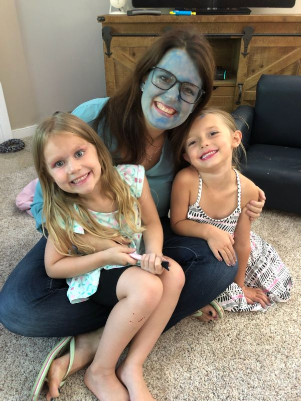 Kate Letting Our Niece & Her Friend Do Her Make-Up