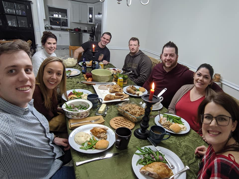 Friendsgiving at Our Home