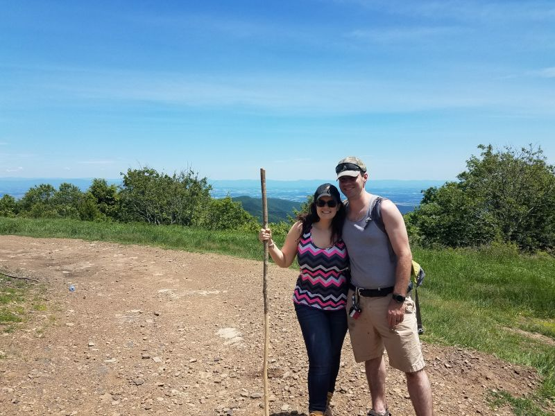 Camping at the Top of Flagpole Knob
