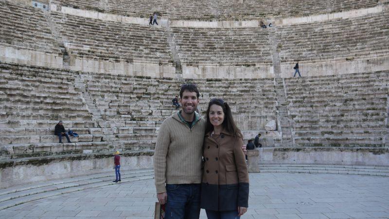 Roman Ruins in Jordan