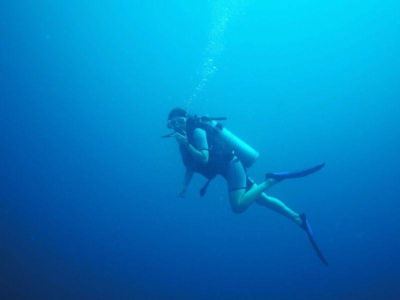 Alicia Scuba Diving