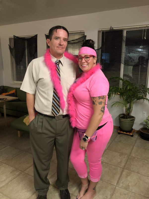 Dwight Schrute & Tickled Pink for Halloween