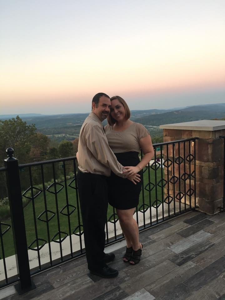 Enjoying the View at Blue Mountain