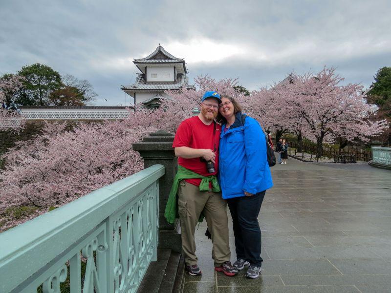Kanazawa Castle in Japan