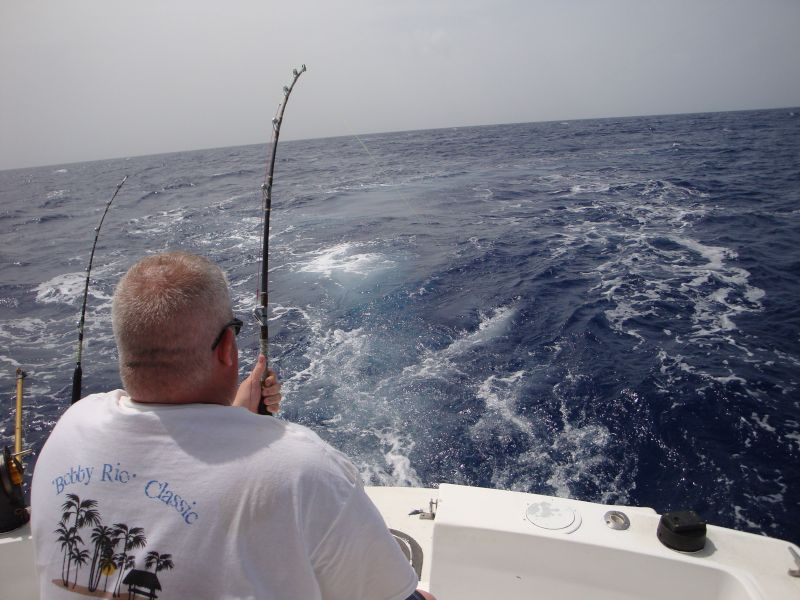Jason Fishing in Cozumel