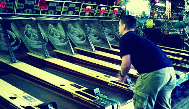Skee Ball is Our Favorite Arcade Game