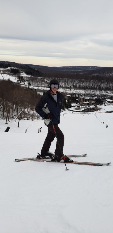 Dave Hitting the Slopes