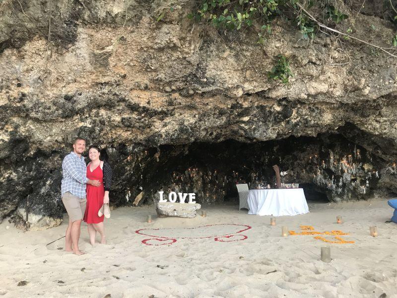 Cave Dinner in Bali