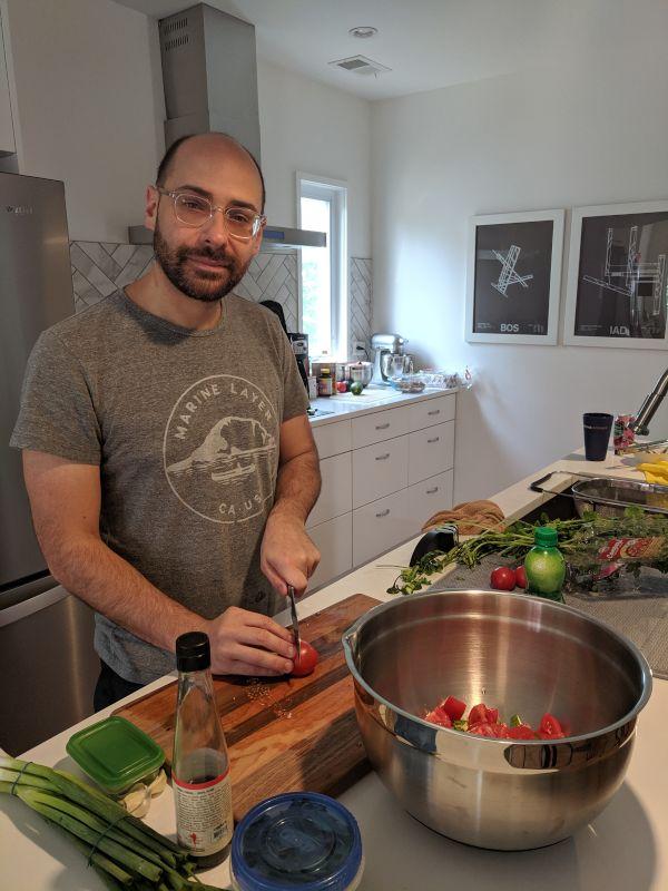 Matthew in the Kitchen