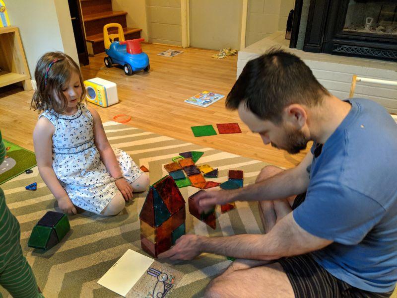 Dennis Demonstrating Proper Construction