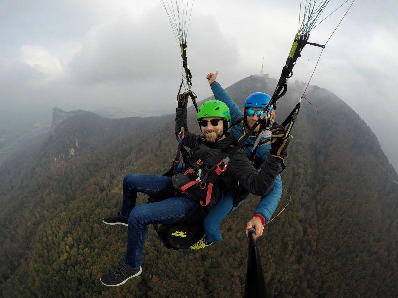 Dennis Paragliding in Austria