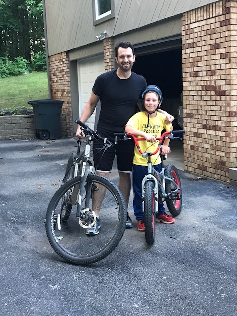 Riding Bikes with Dad