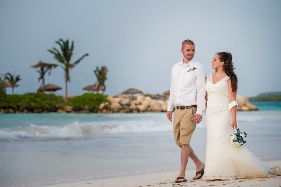 Our Wedding on the Beach in Jamaica