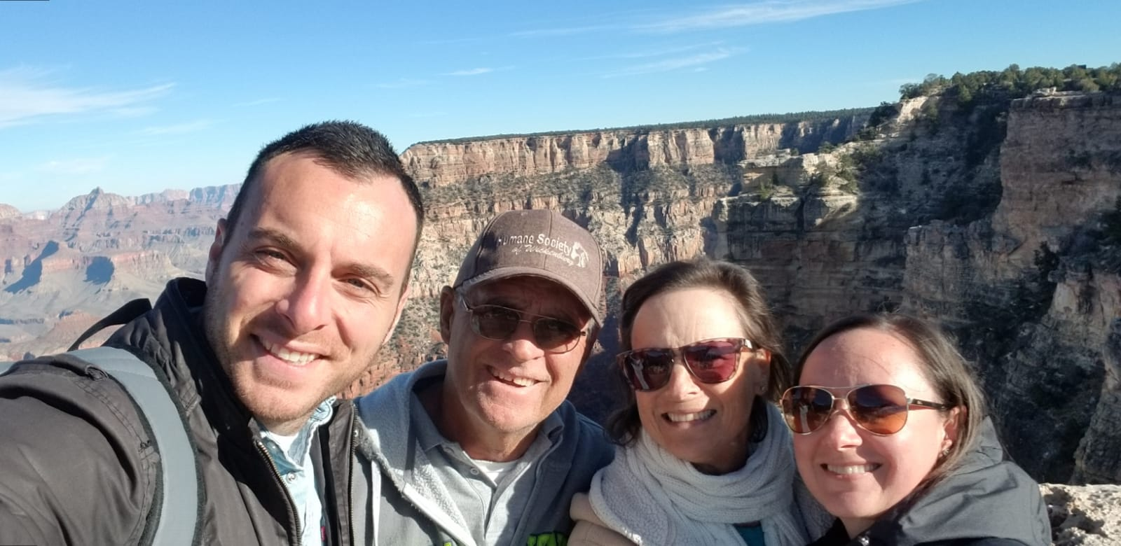 The Grand Canyon with Shannon's Family