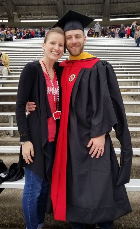Celebrating Ben's Graduation