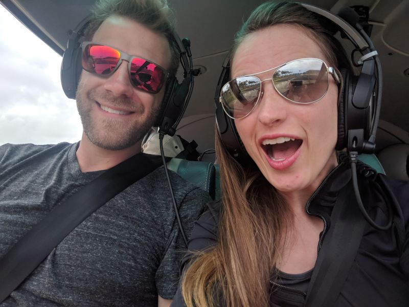 Helicopter Ride to See the Waterfall from Jurassic Park