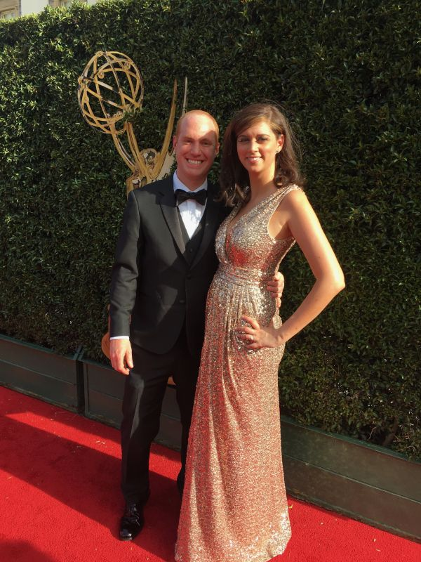 At the Emmys for Adrienne's Nomination